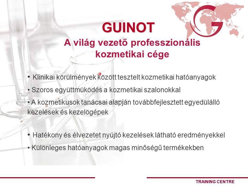A világ vezető professzionális kozmetikai cége