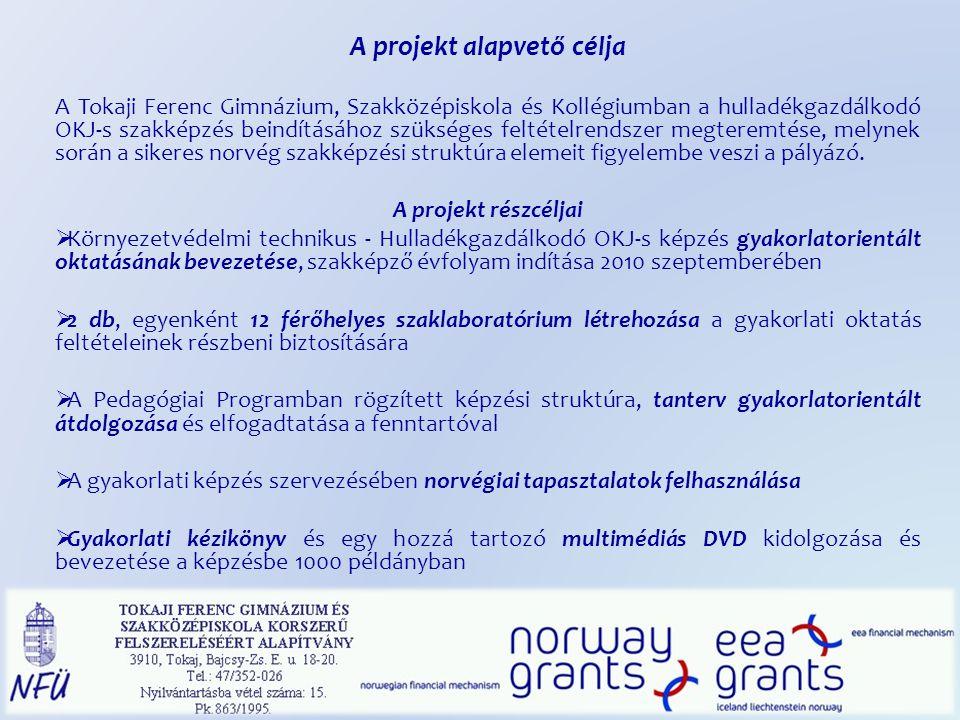 A projekt alapvető célja