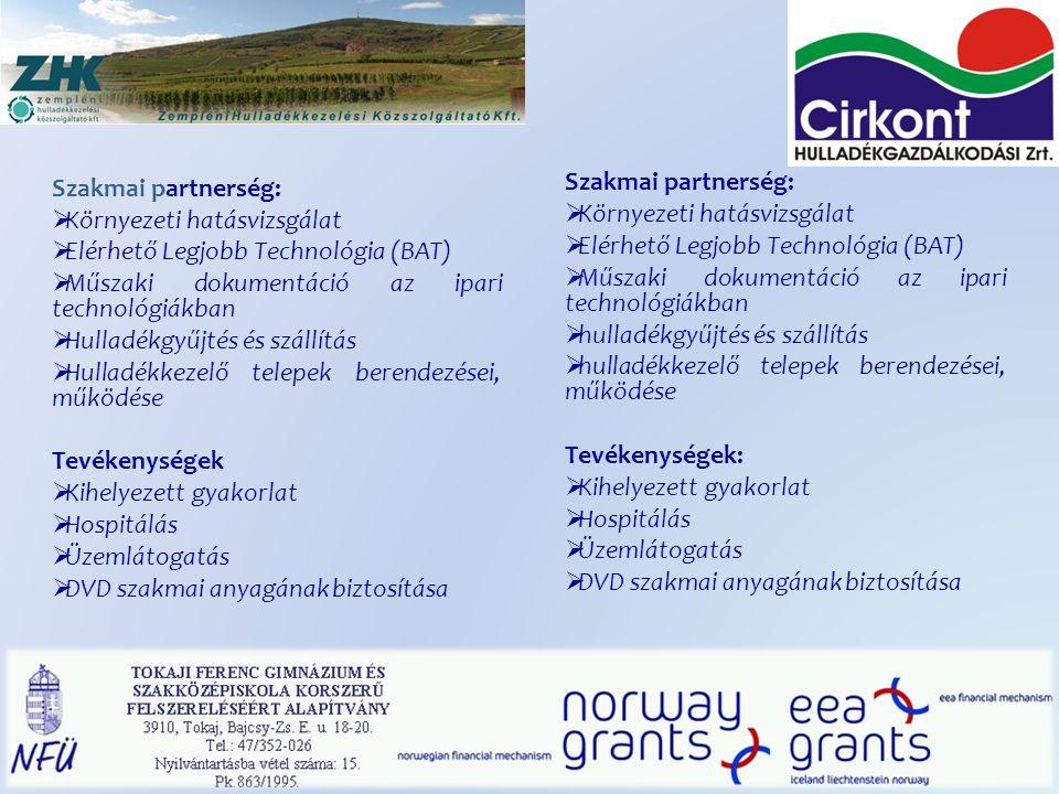 Környezeti hatásvizsgálat Elérhető Legjobb Technológia (BAT)
