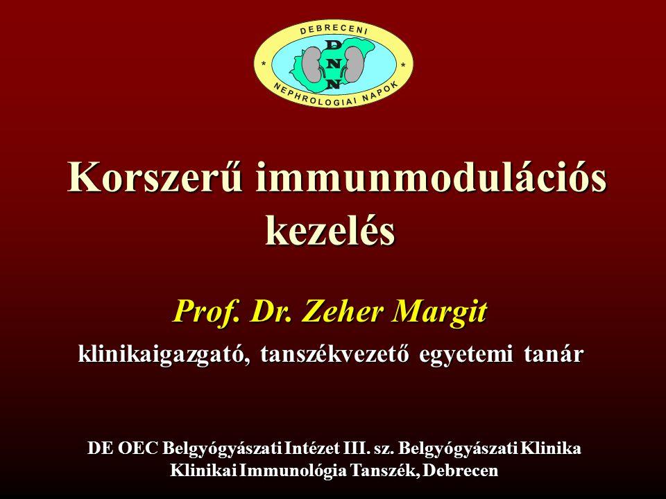 Korszerű immunmodulációs kezelés