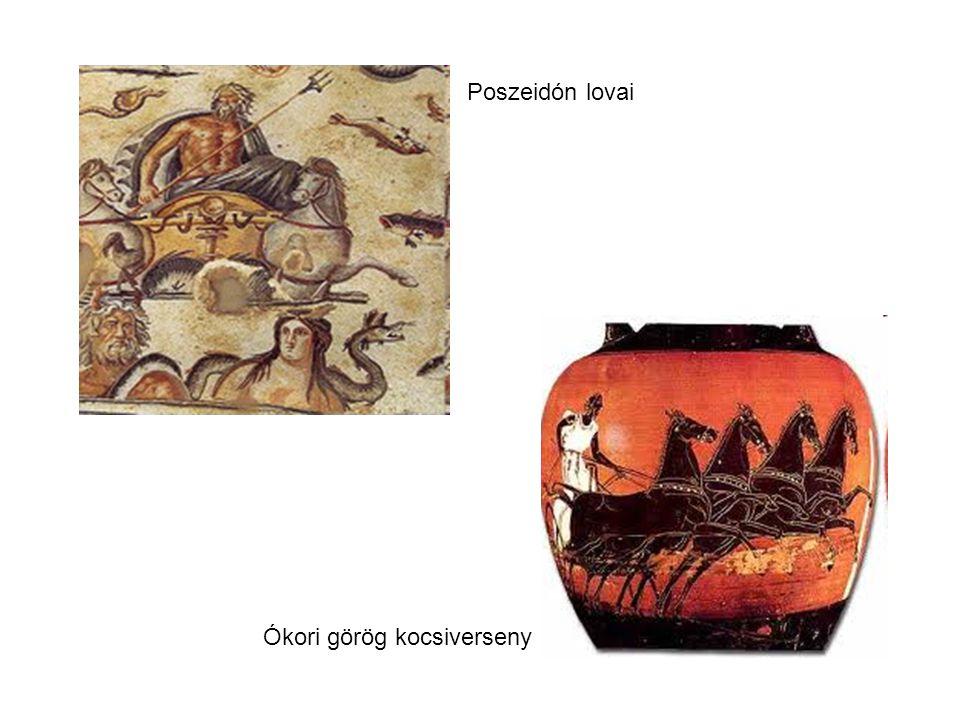 Poszeidón lovai Ókori görög kocsiverseny