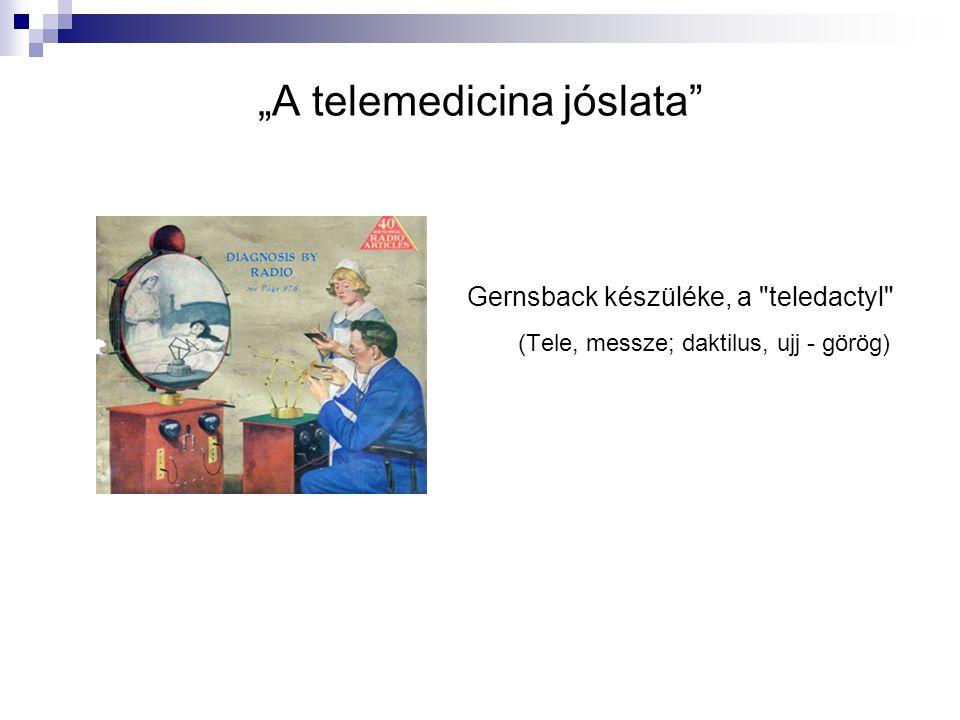 """""""A telemedicina jóslata"""