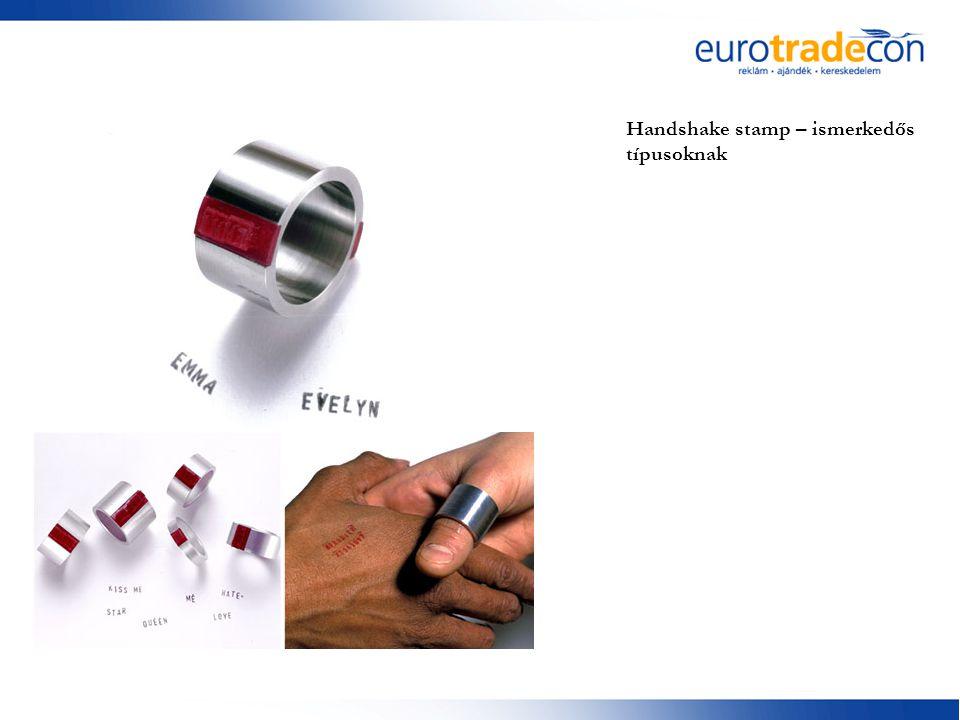 Handshake stamp – ismerkedős típusoknak