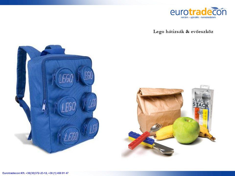Lego hátizsák & evőeszköz