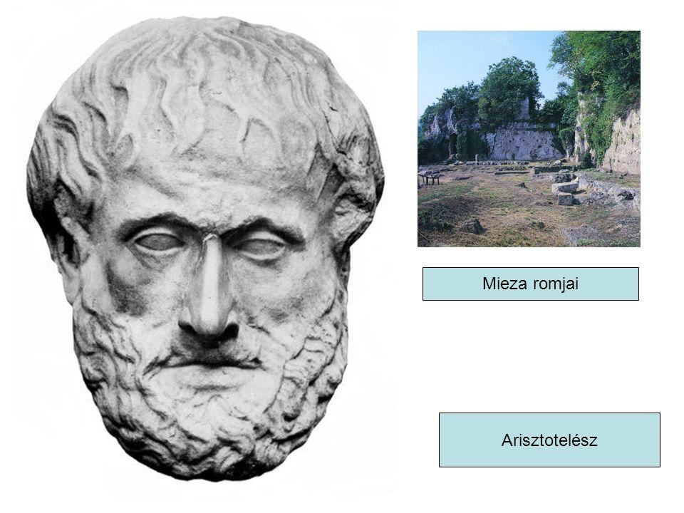 Mieza romjai Arisztotelész
