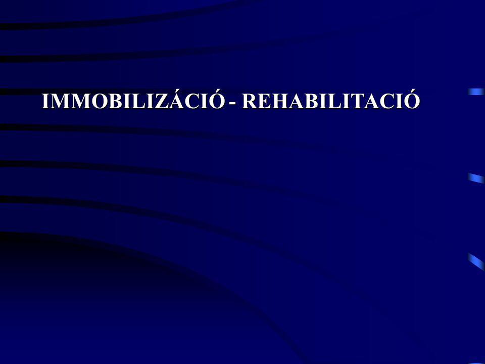 IMMOBILIZÁCIÓ - REHABILITACIÓ