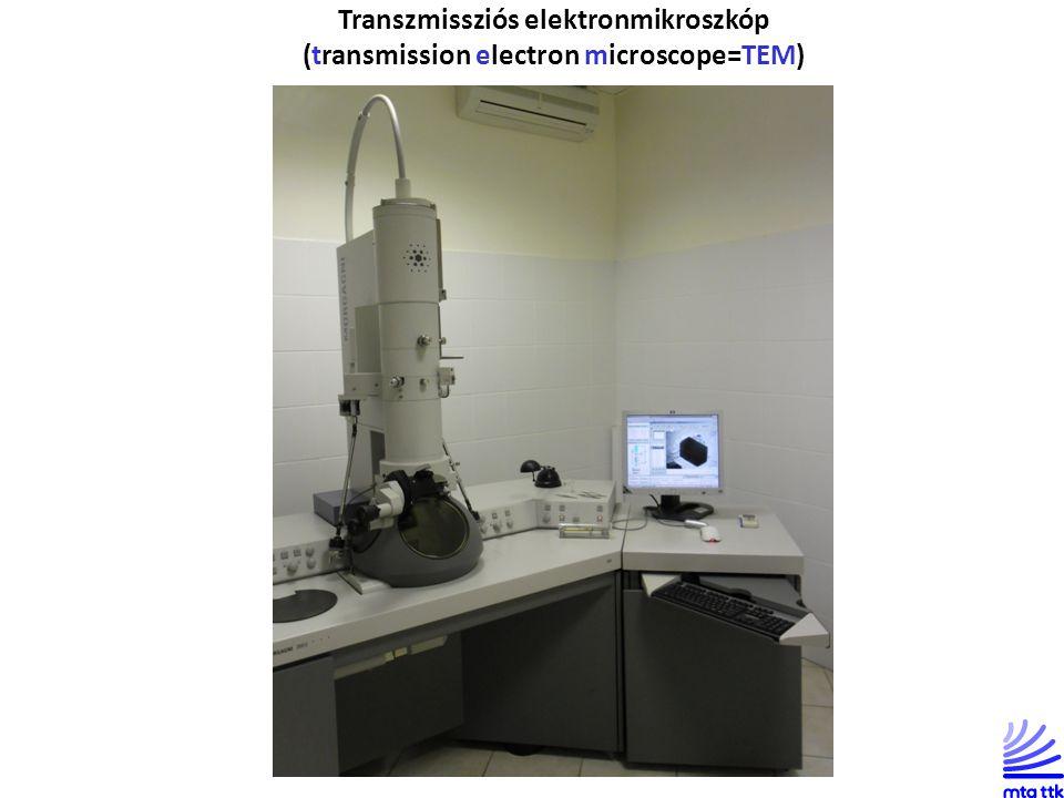 Transzmissziós elektronmikroszkóp (transmission electron microscope=TEM)