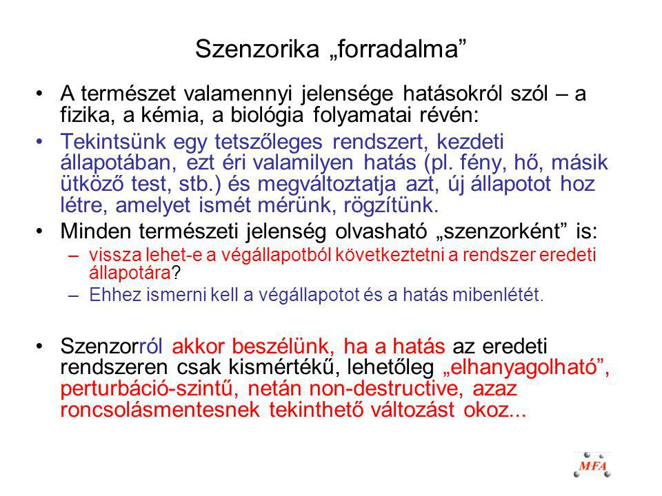"Szenzorika ""forradalma"