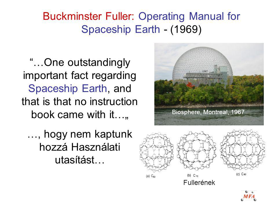 Buckminster Fuller: Operating Manual for Spaceship Earth - (1969)