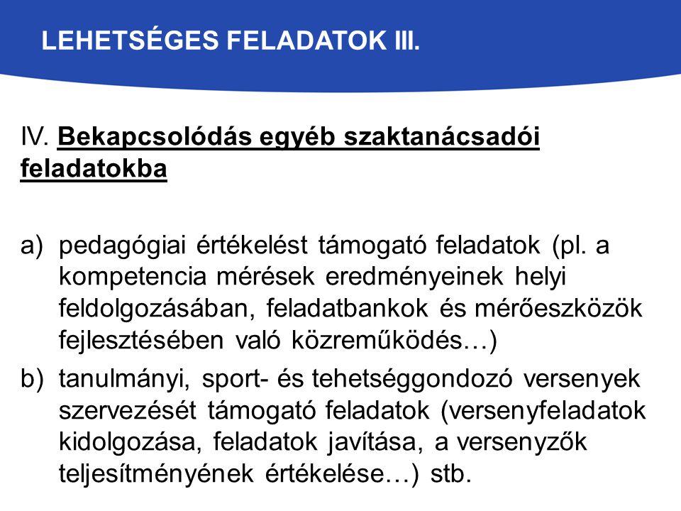 LEHETSÉGES FELADATOK III.