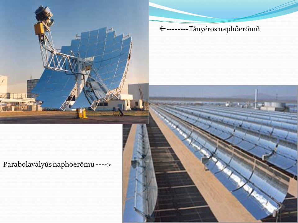 --------Tányéros naphőerőmű