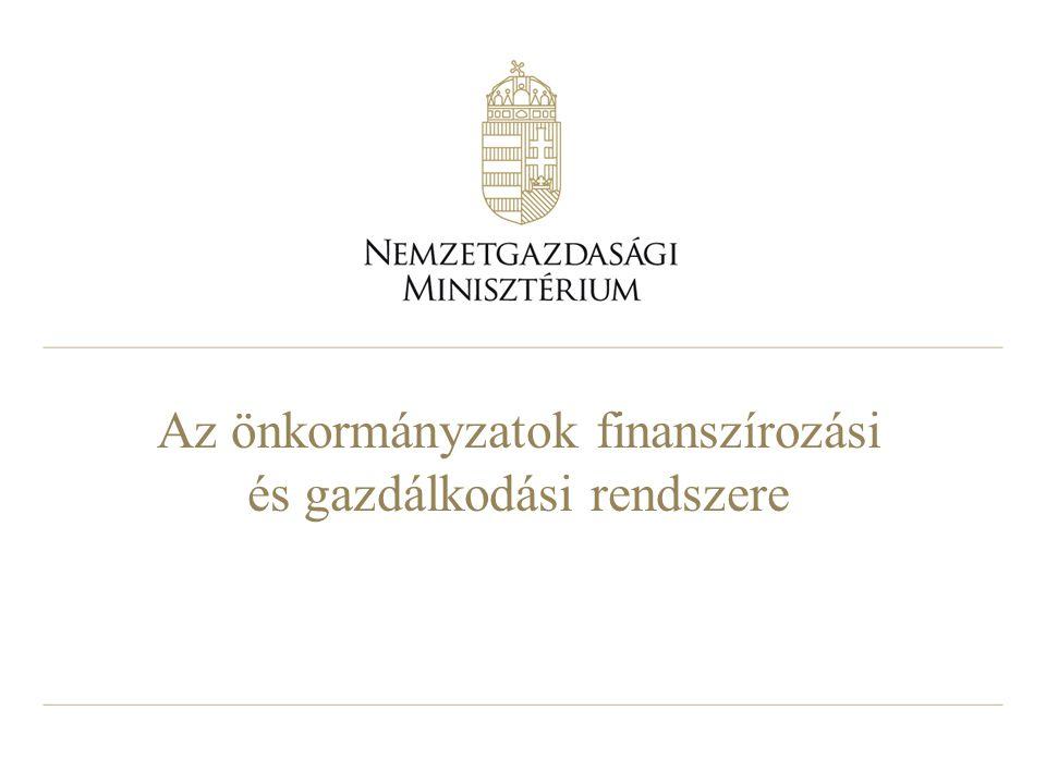 Az önkormányzatok finanszírozási és gazdálkodási rendszere