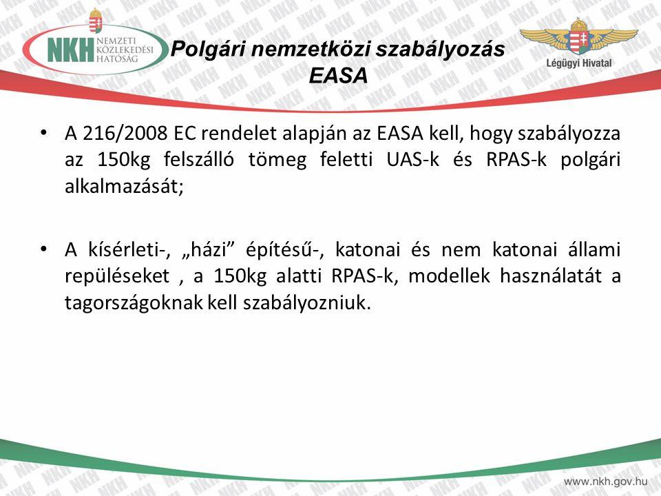 Polgári nemzetközi szabályozás EASA