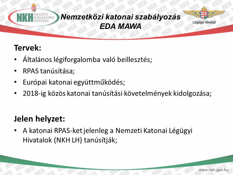 Nemzetközi katonai szabályozás EDA MAWA