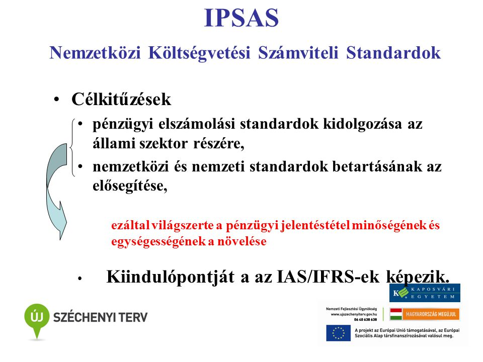 IPSAS Nemzetközi Költségvetési Számviteli Standardok