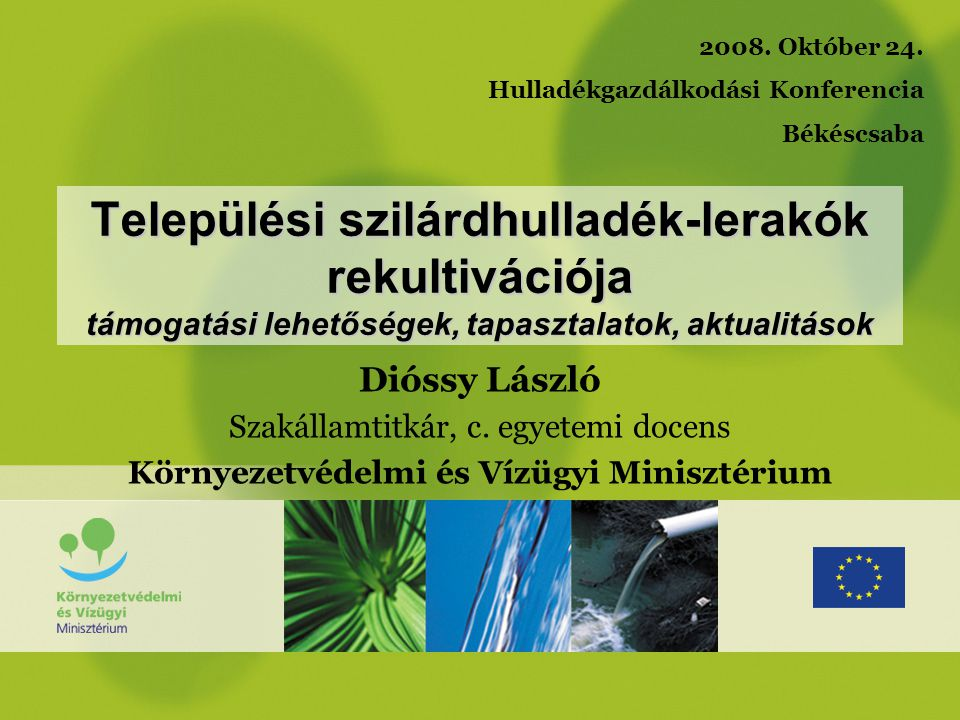Környezetvédelmi és Vízügyi Minisztérium