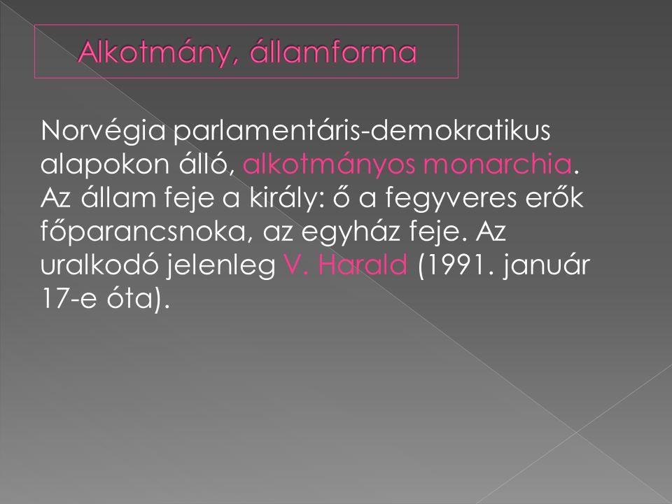 Alkotmány, államforma