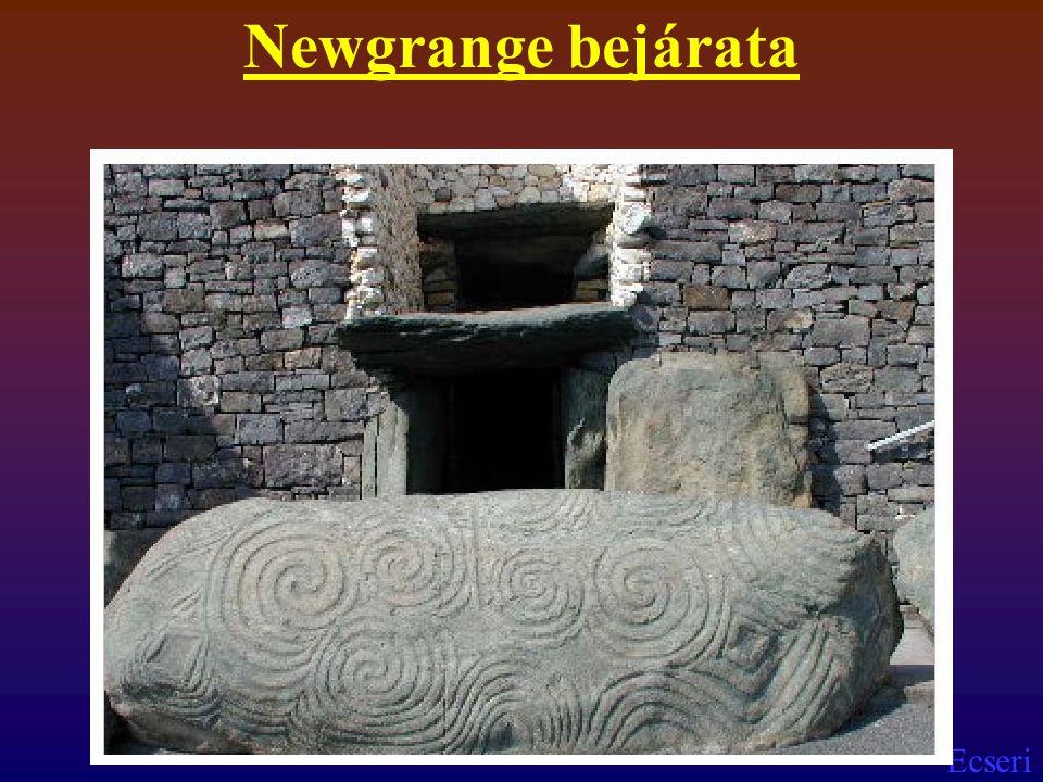 Newgrange bejárata