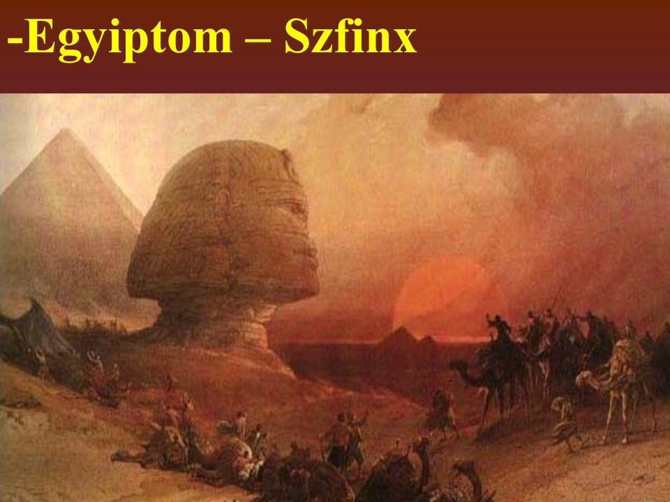 -Egyiptom – Szfinx