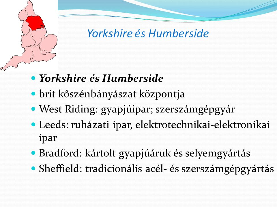 Yorkshire és Humberside