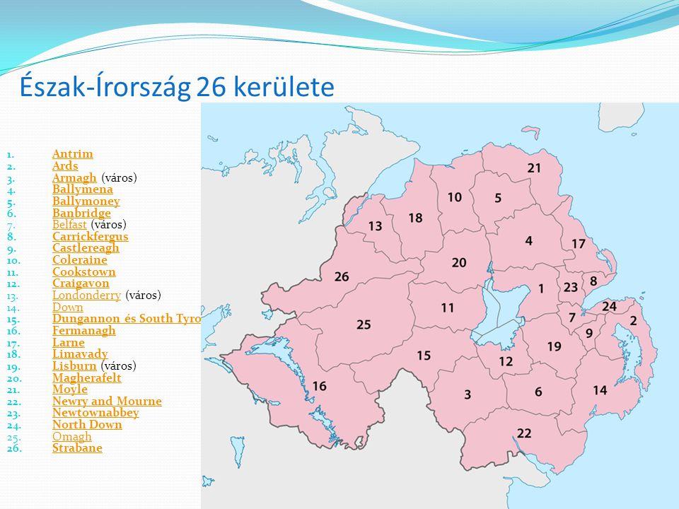 Észak-Írország 26 kerülete