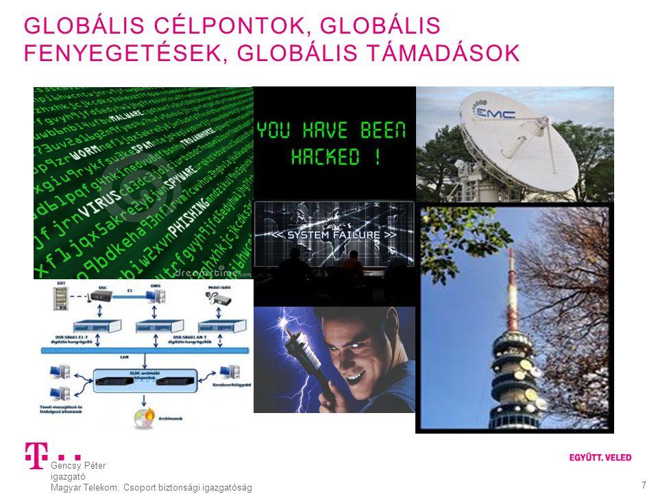 Globális célpontok, globális fenyegetések, globális támadások