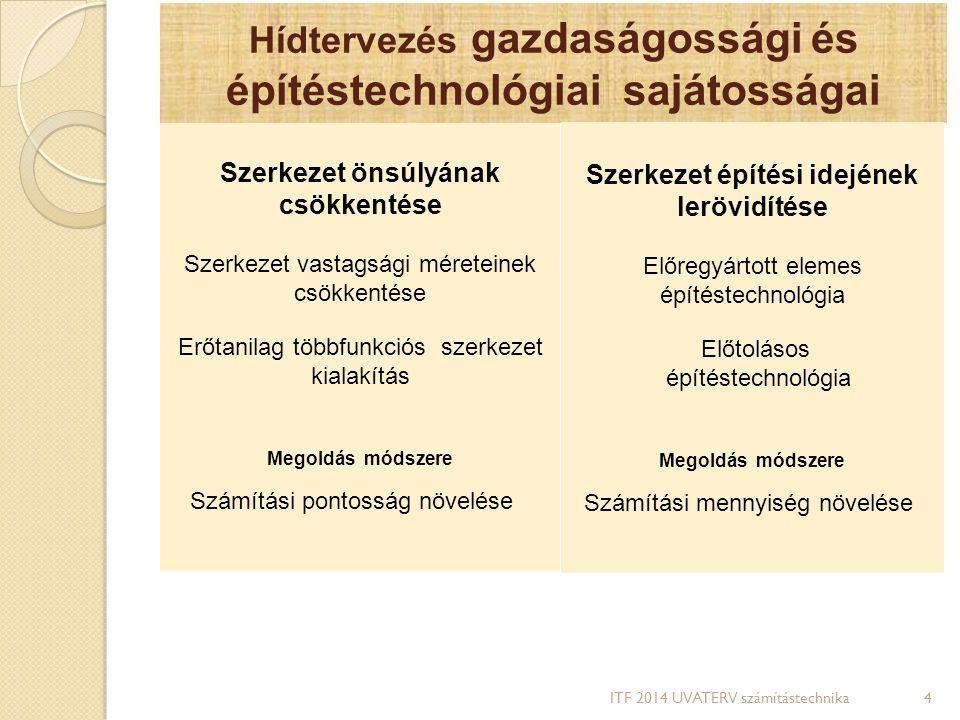 Hídtervezés gazdaságossági és építéstechnológiai sajátosságai
