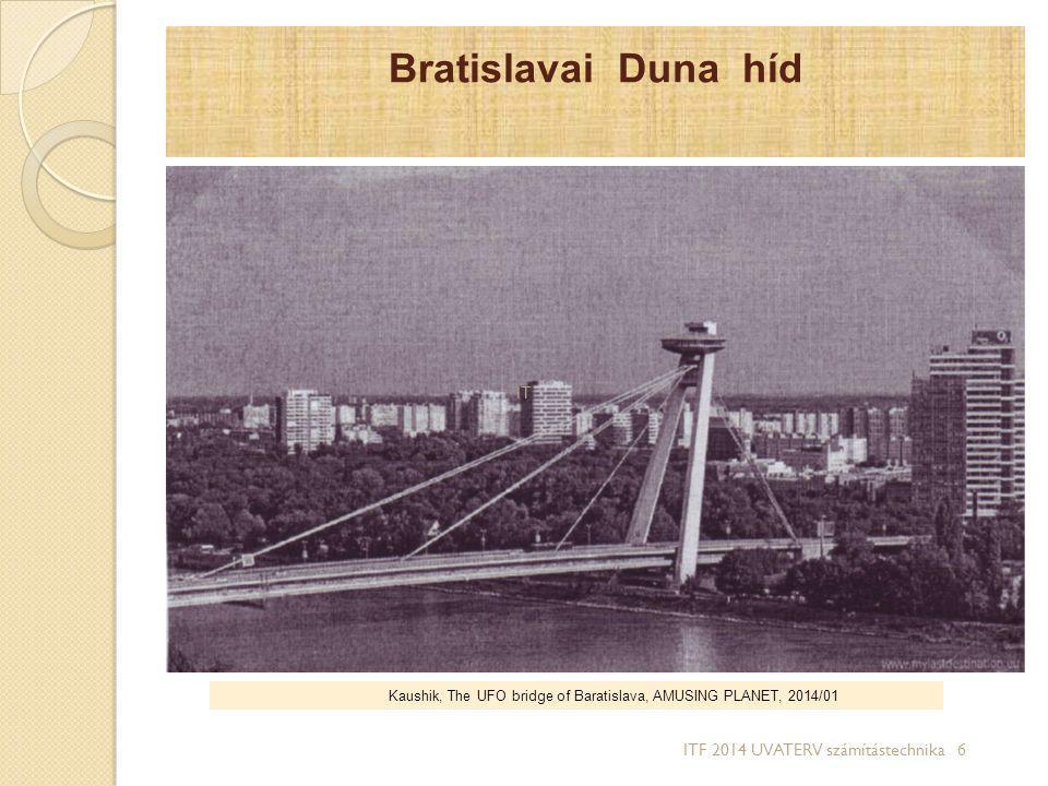 Bratislavai Duna híd IT ITF 2014 UVATERV számítástechnika 6