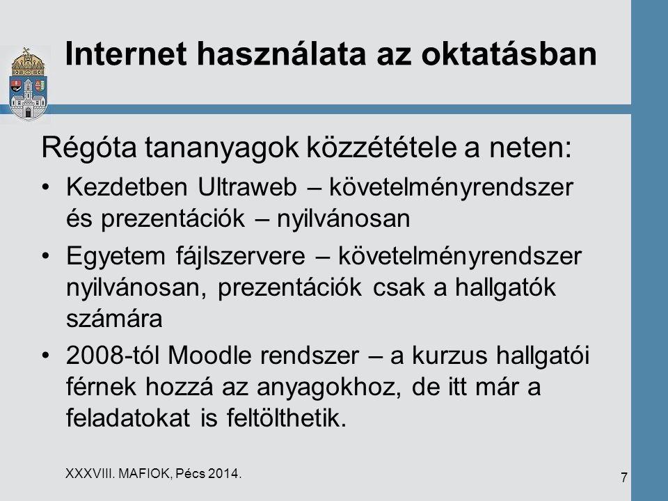 Internet használata az oktatásban