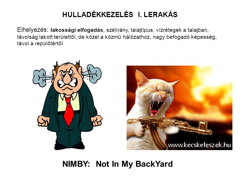 NIMBY: Not In My BackYard