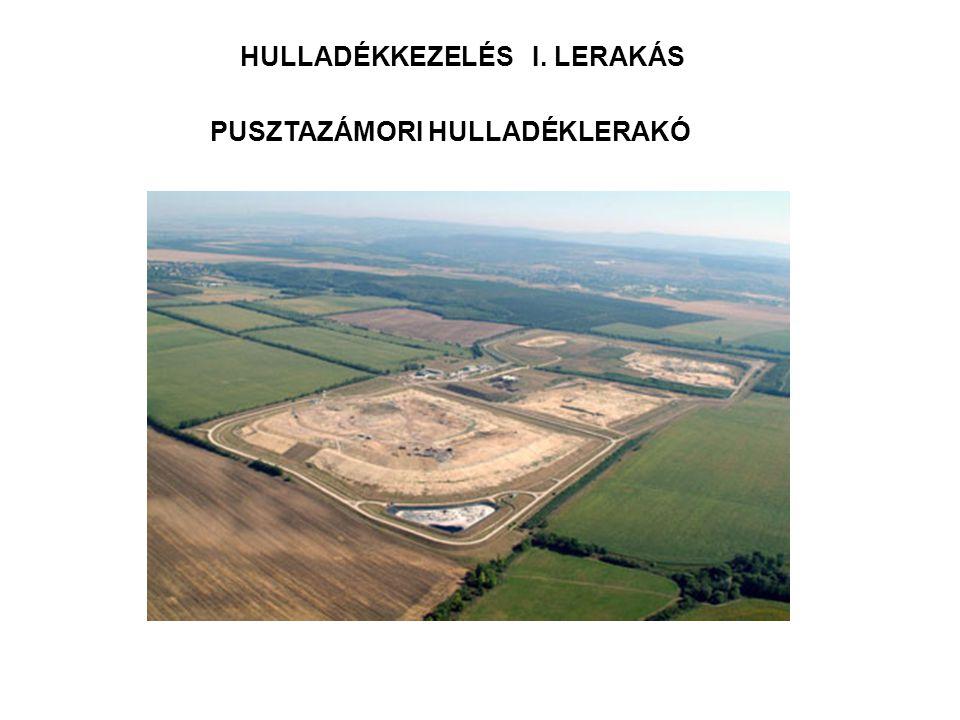 HULLADÉKKEZELÉS I. LERAKÁS