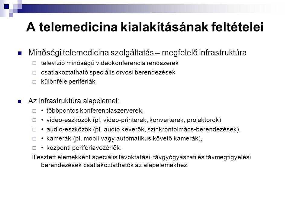 A telemedicina kialakításának feltételei