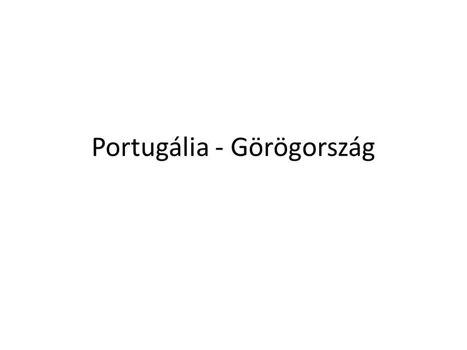 Portugália - Görögország