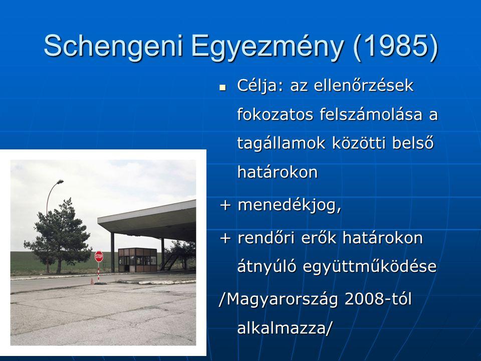 Schengeni Egyezmény (1985)