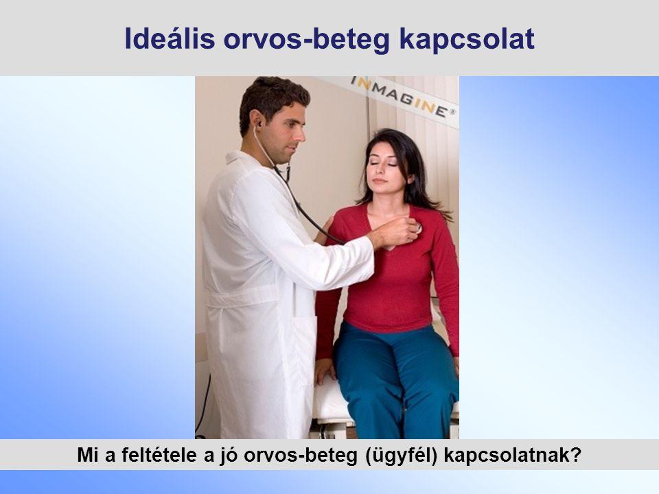 Ideális orvos-beteg kapcsolat