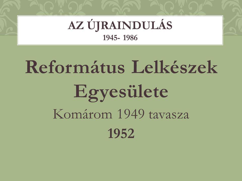Református Lelkészek Egyesülete