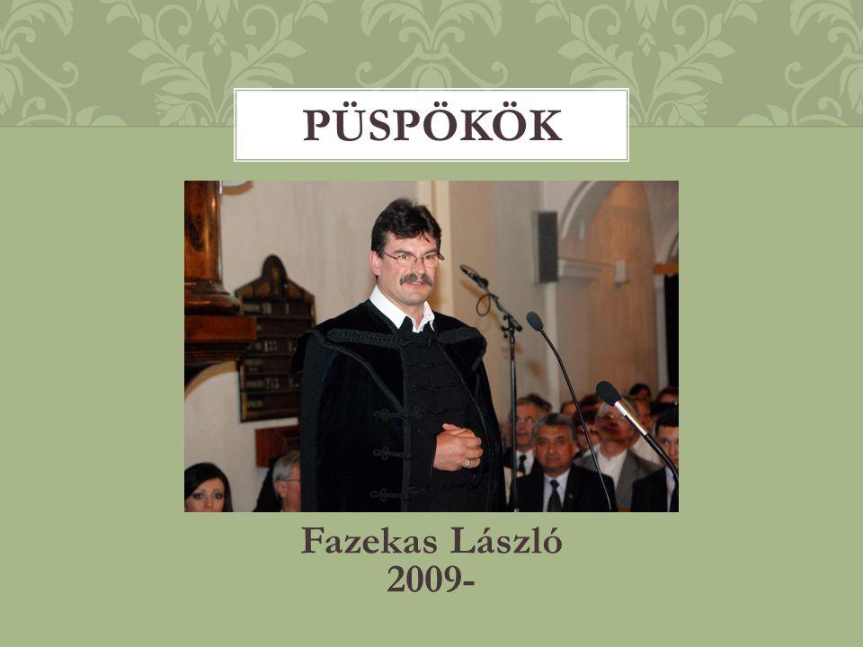 Püspökök Fazekas László 2009-