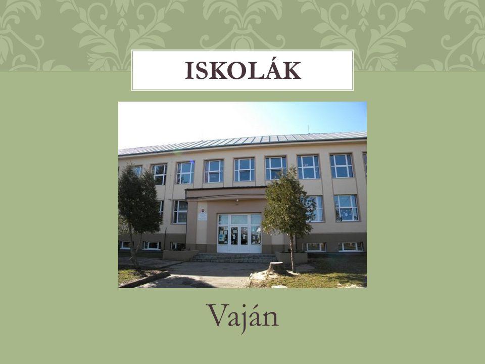 Iskolák Vaján