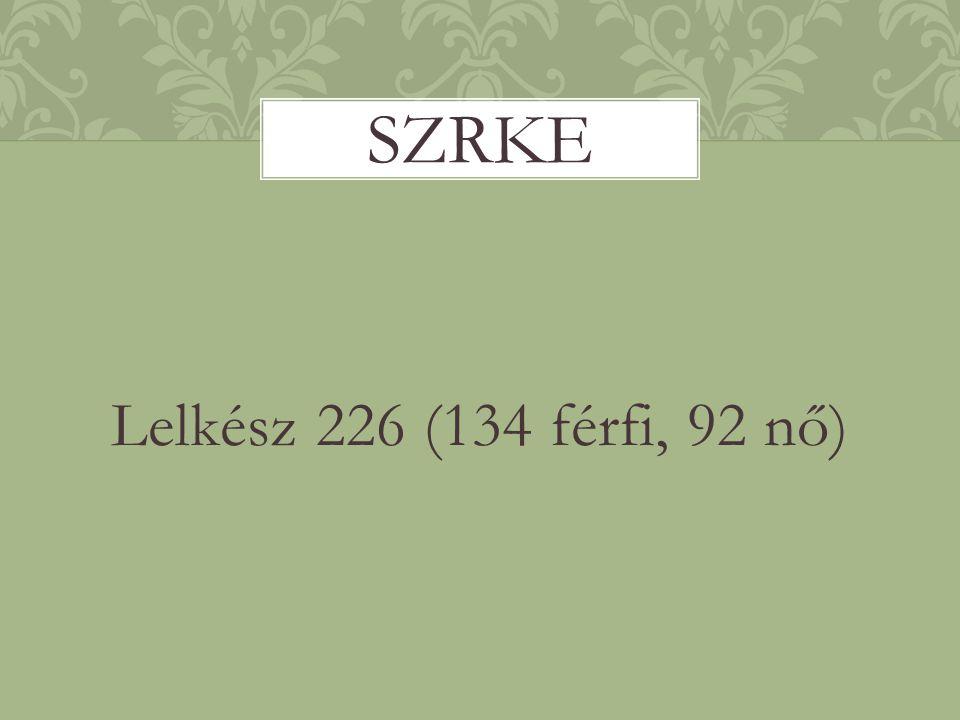 szrke Lelkész 226 (134 férfi, 92 nő)