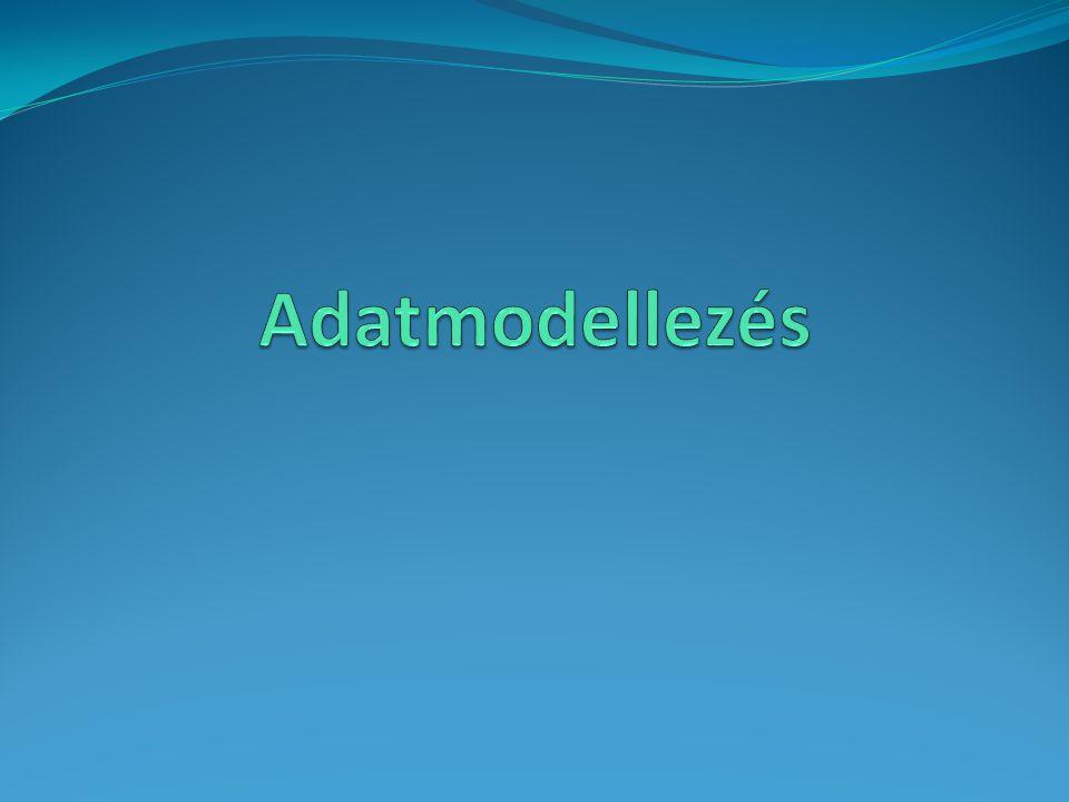 Adatmodellezés