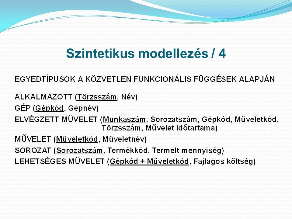 Szintetikus modellezés / 4
