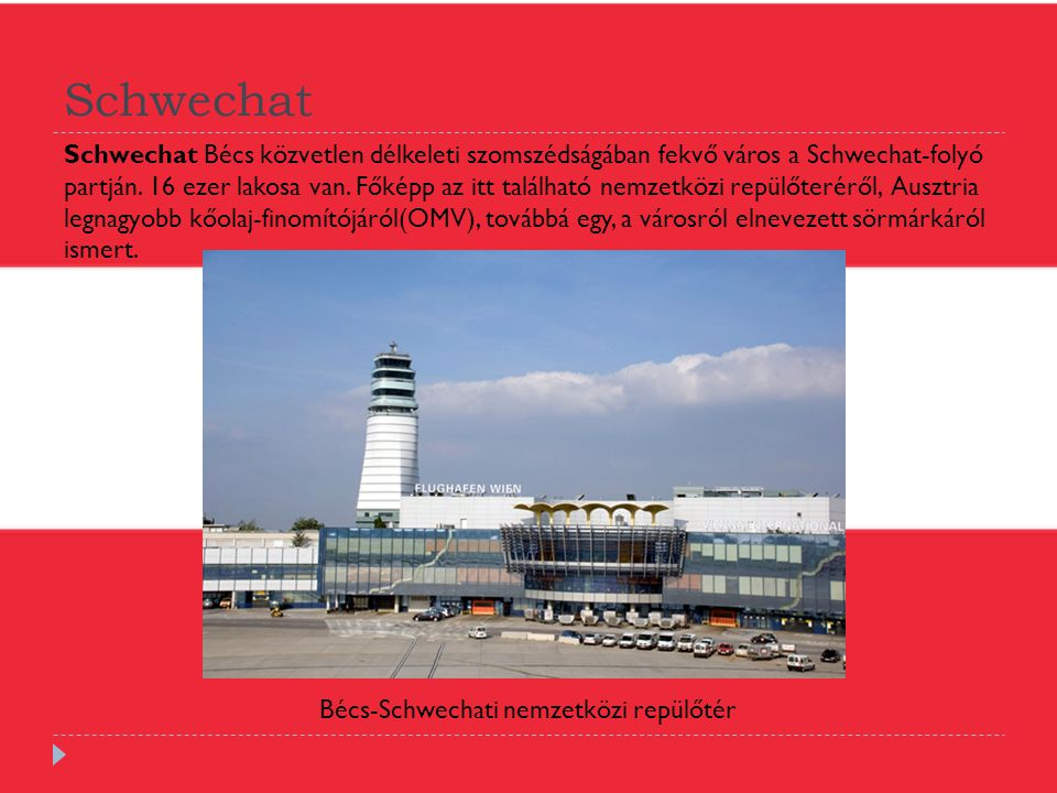 Bécs-Schwechati nemzetközi repülőtér
