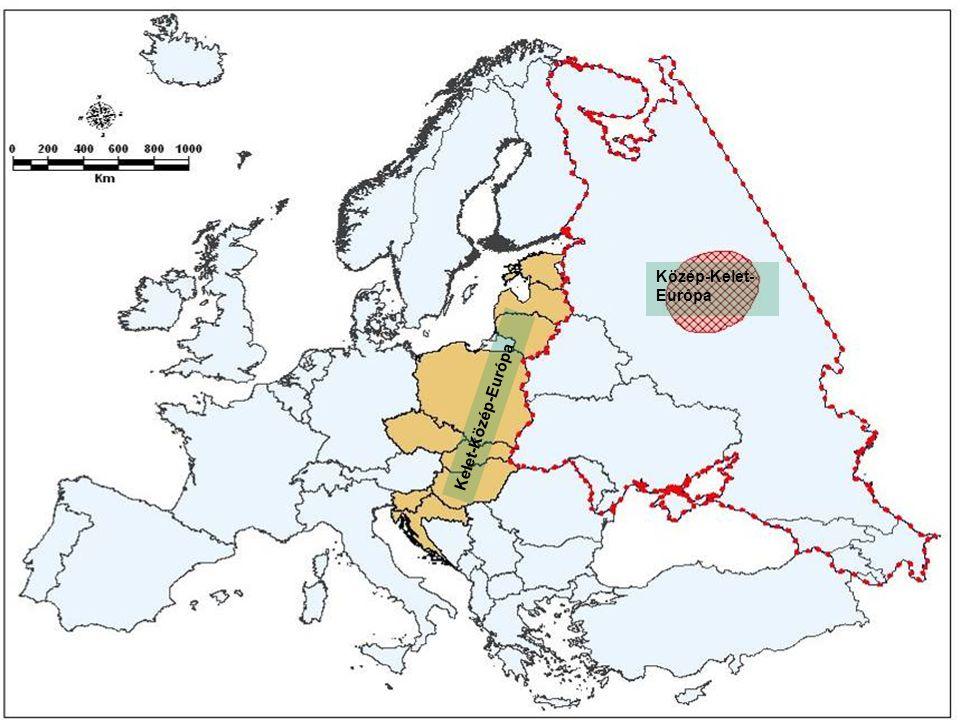 Közép-Kelet- Európa Kelet-Közép-Európa