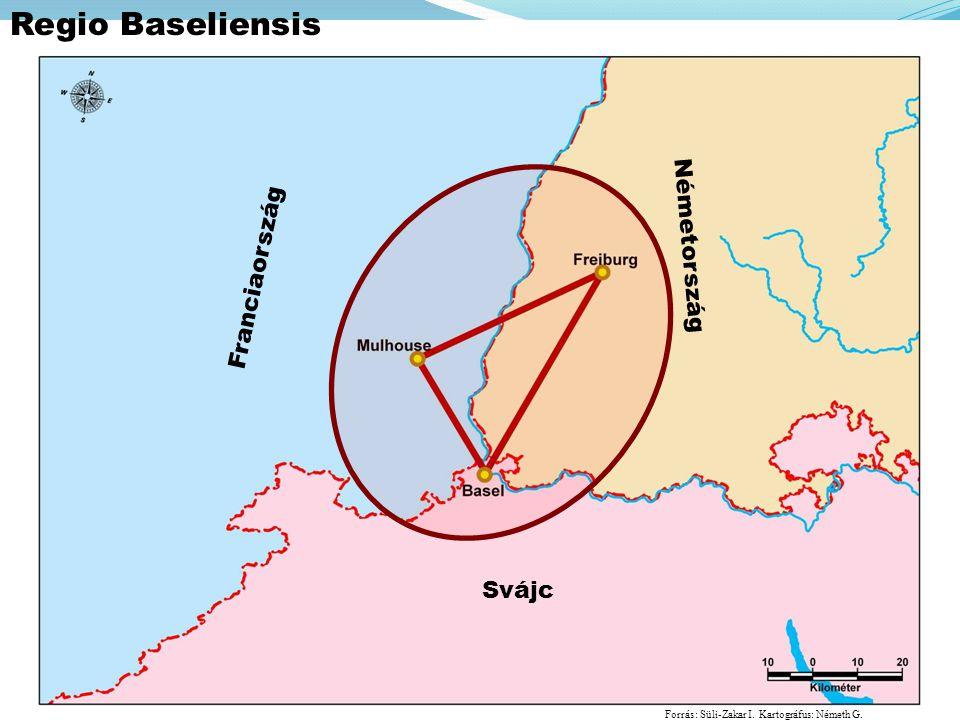 Regio Baseliensis Németország Franciaország Svájc
