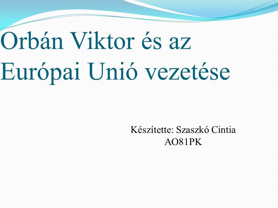 Orbán Viktor és az Európai Unió vezetése