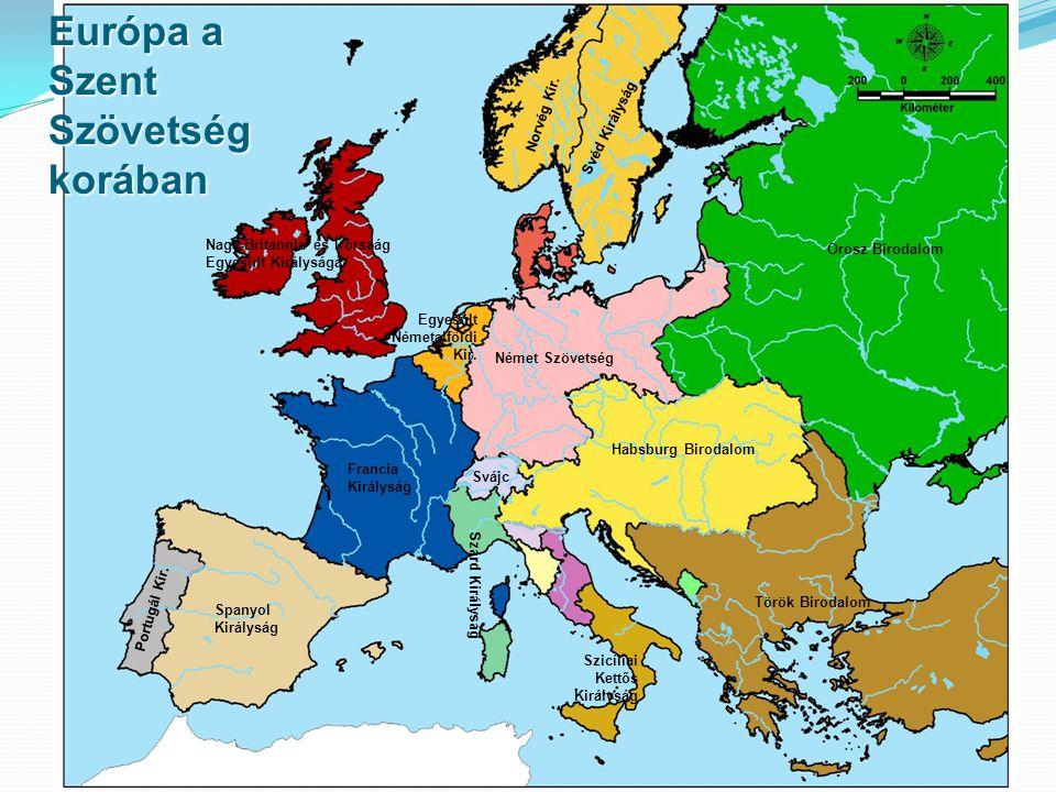 Európa a Szent Szövetség korában