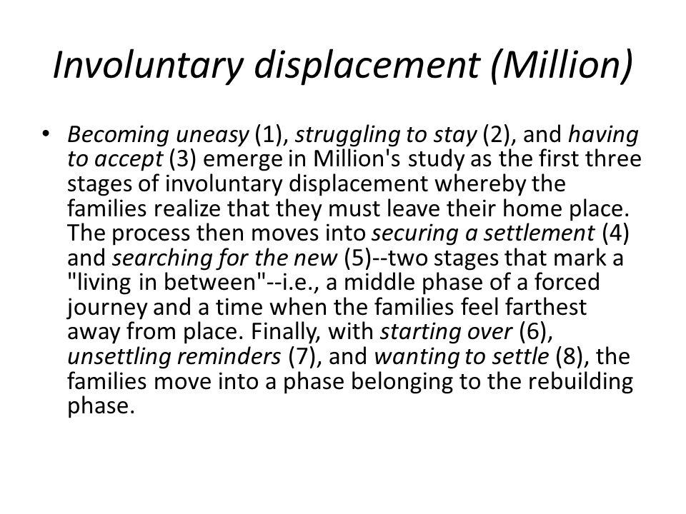 Involuntary displacement (Million)