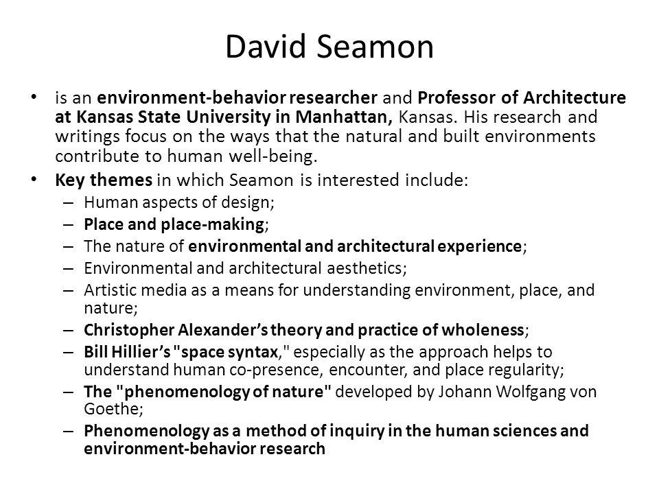 David Seamon