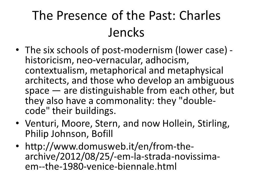 The Presence of the Past: Charles Jencks