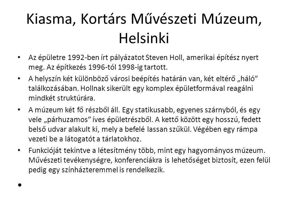 Kiasma, Kortárs Művészeti Múzeum, Helsinki